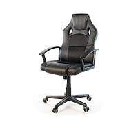 Кресло геймерское АКЛАС Анхель NEW PL TILT Черное, фото 1
