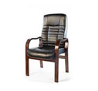 Кресло конференционное АКЛАС Атлант EX CF Черное, фото 1