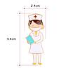 Брошь брошка врач доктор медик медсестра в маске знак значок, фото 2