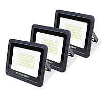 Набір з 3-х світлодіодних прожекторів EVROLIGHT FM-01-50 50W 6400K
