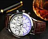 Чоловічі наручні годинники, Годинник yazole, Подарунок чоловікові, Чоловічі класичні годинник, Чоловічі класичні годинник, фото 8