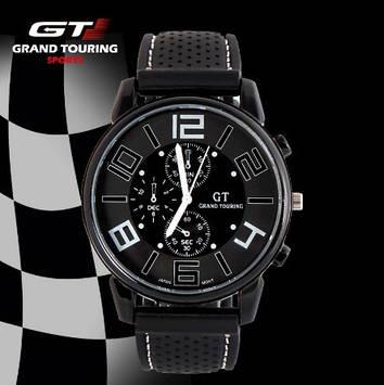 Мужские спортивные часы GT Sport  белые
