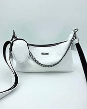 Женская сумка «Лойс» белая Welassie