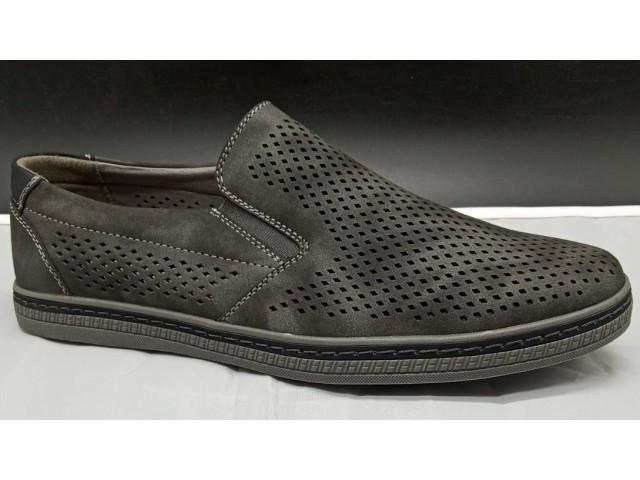 Туфлі чоловічі * Meko Mello 1566-709 сірий