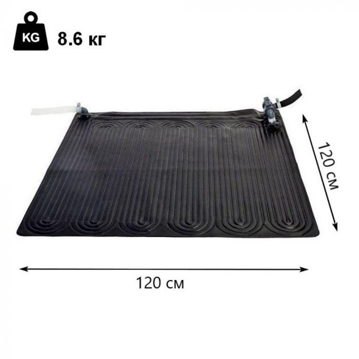 Килимок нагрівач води для басейну Intex 28685 килимок нагрівач води від сонця