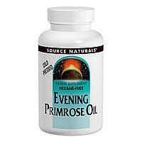 Масло примулы вечерней Source Naturals 1350 мг 60 желатиновых капсул SN0075, КОД: 1826835