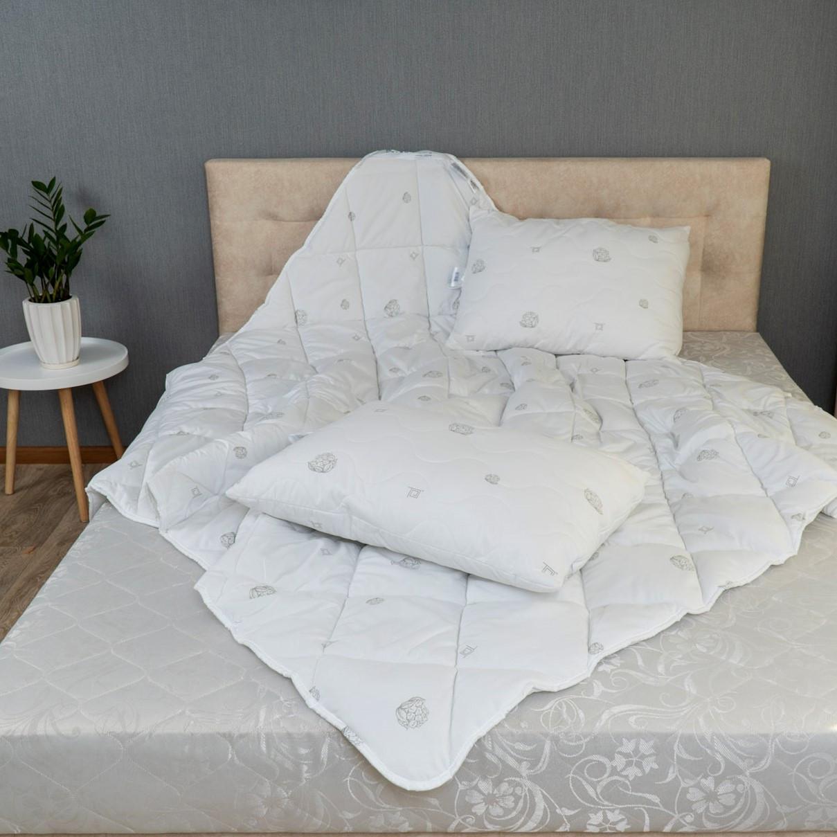 """Комплект ТЕП Природа """"Cotton"""" ковдра+ 2 подушки 50х70 см"""