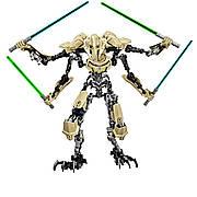Конструктор фигурка генерал Гривус из фильма Звездные Войны. Игрушка конструктор General Grievous Star Wars 32
