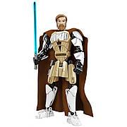 Конструктор фигурка Оби-Ван Кеноби из фильма Звездные Войны. Игрушка конструктор Obi-Wan Kenobi Star Wars 23.5