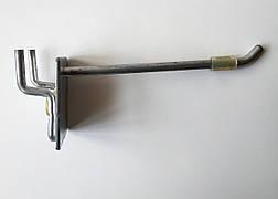 Б/У Крючок торговый одинарный на сетку 13 см. Крючки торговые на перфорацию