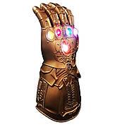 Детская светящаяся перчатка Таноса. Мстители: Война Бесконечности. Перчатка бесконечности 30 см