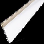 Ценникодержатель полочный самоклеющийся DBR39 9мм белый. Ценникодержатель на профильную полку DBR39