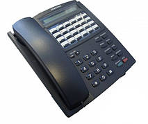 Б/У Цифровой системный телефон Samsung NX-24E. Стационарный офисный телефон Samsung NX-24E. Телефон для