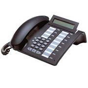 Б/У Цифровой системный телефон Siemens Optipoint 500 standard mangan. Телефон cовместимый с телефонными