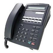 Б/У Цифровой системный телефон Samsung NX-12E. Стационарный офисный телефон для мини-АТС SAMSUNG