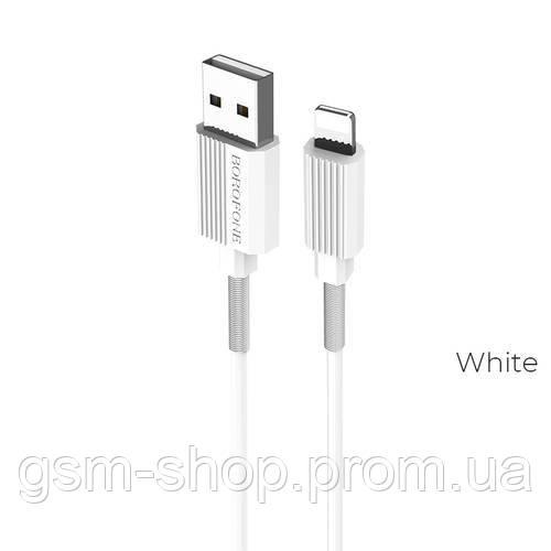 Кабель USB-L Borofone BX11 UJet Lightning (білий)