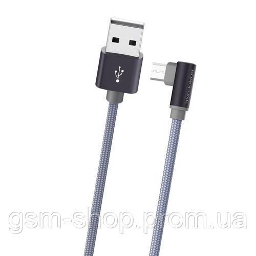 Кабель USB-m Borofone BX12 FreeJet Micro (grey)