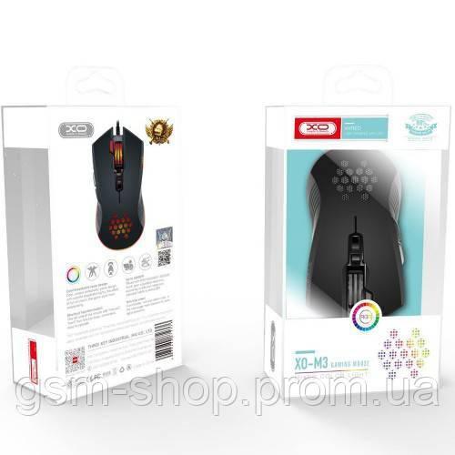 USB Миша XO-M3 Wolf (Чорний)