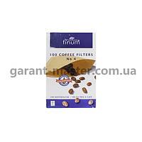 Фільтр паперовий №4 (100шт.) Finum для краплинної кавоварки