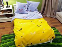 Семейный набор хлопкового постельного белья из Бязи Gold 154154AB Черешенка BC4G154154AB, КОД: 1891468