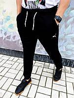 Спортивные штаны (флис) Puma solo черные