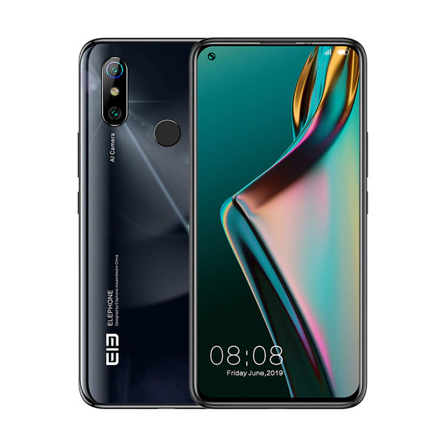 Elephone U3H 6/128Gb black * Уценка