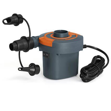 Електричний насос для надування Bestway 62142 (12 V, 220 V, 490 л/хв)