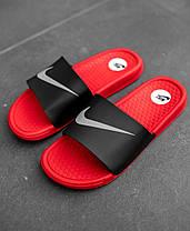 "Сланцы Nike Red/Black ""Красные/Черные"", фото 2"