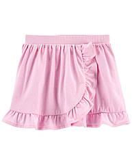 """Спідниця-шорти для хлопчика carter's """"Рожева"""" однотонна"""