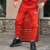 Спортивные штаны в стиле Adidas Originals красные