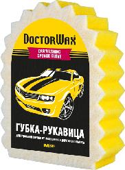 """DoctorWax """"Мрія ледаря"""". Велика губка для миття з сіткою для видалення нальоту і комах"""