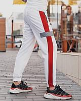 Cпортивные штаны Пушка Огонь Wline белые