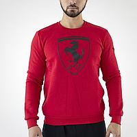 Мужской красный свитшот Puma Ferrari