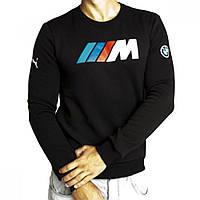 Мужская толстовка с начесом Puma BMW черная