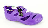 Детская летняя обувь / сланцы. Модель ПЛУТО (фиолетовый).