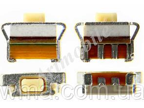 Кнопка включения Samsung i8160/B7722/C3312/C3330/C3752/C3782/E2530/S5610/S5750/S5830/S5830i/6102/S6802, 4.5 mm