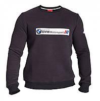 Толстовка с начёсом черная Puma BMW Motors