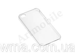 Чехол накладка iPhone 4 Crystal case clear (white)