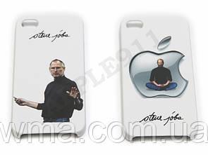 Чехол накладка на iPhone 4, Steven Paul Jobs Case