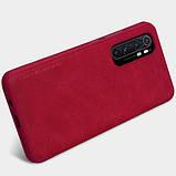 Шкіряний чохол-книжка Nillkin Qin Series для Xiaomi Mi Note 10 Lite, фото 5