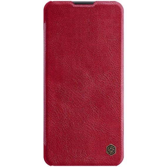 Кожаный чехол-книжка Nillkin Qin Series для Samsung Galaxy A21s