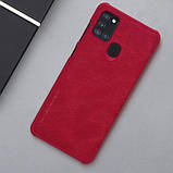 Кожаный чехол-книжка Nillkin Qin Series для Samsung Galaxy A21s, фото 5