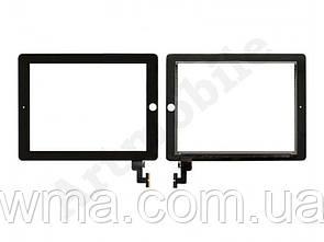 Тачскрин для iPad 2 (A1395/A1396/A1397), черный, копия