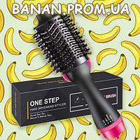 Фен Щетка для Волос One Step Hair Dryer and Styler 3 в 1 Banan