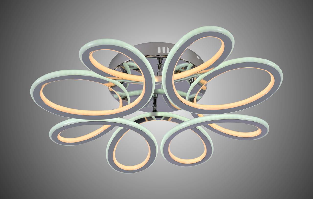 Люстра LED 87-8026/8 CR 174W