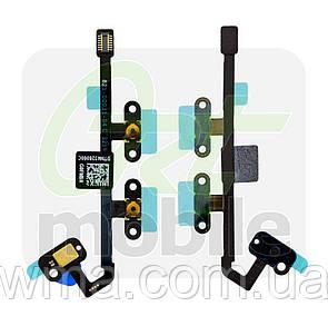 Шлейф для iPad Air 2 (A1566/A1567), с кнопками регулировки громкости, с микрофоном