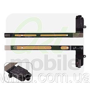 Шлейф для iPad Air 2 (A1566/A1567), с конектором наушников, черный