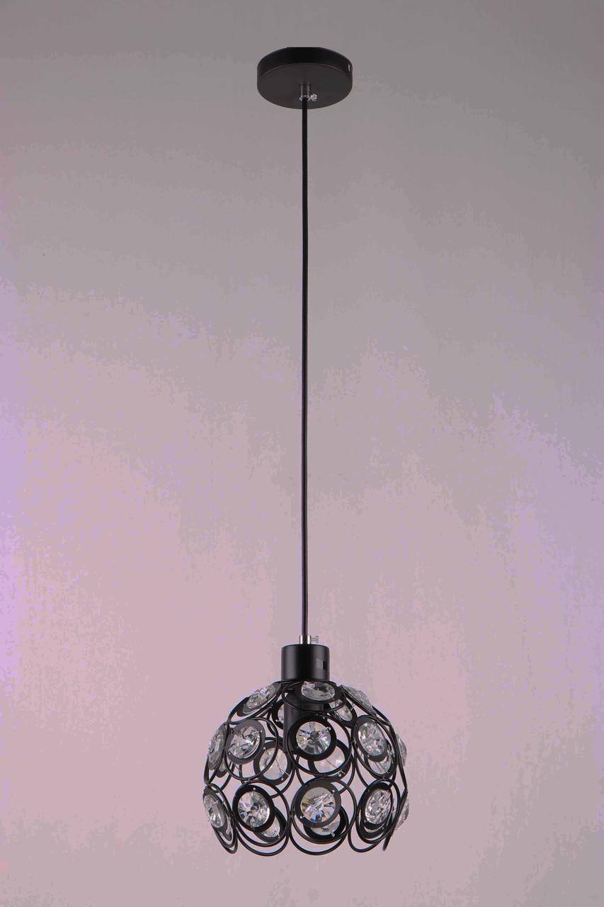 Люстра подвесная на одну лампу 29-X1959/1 BK