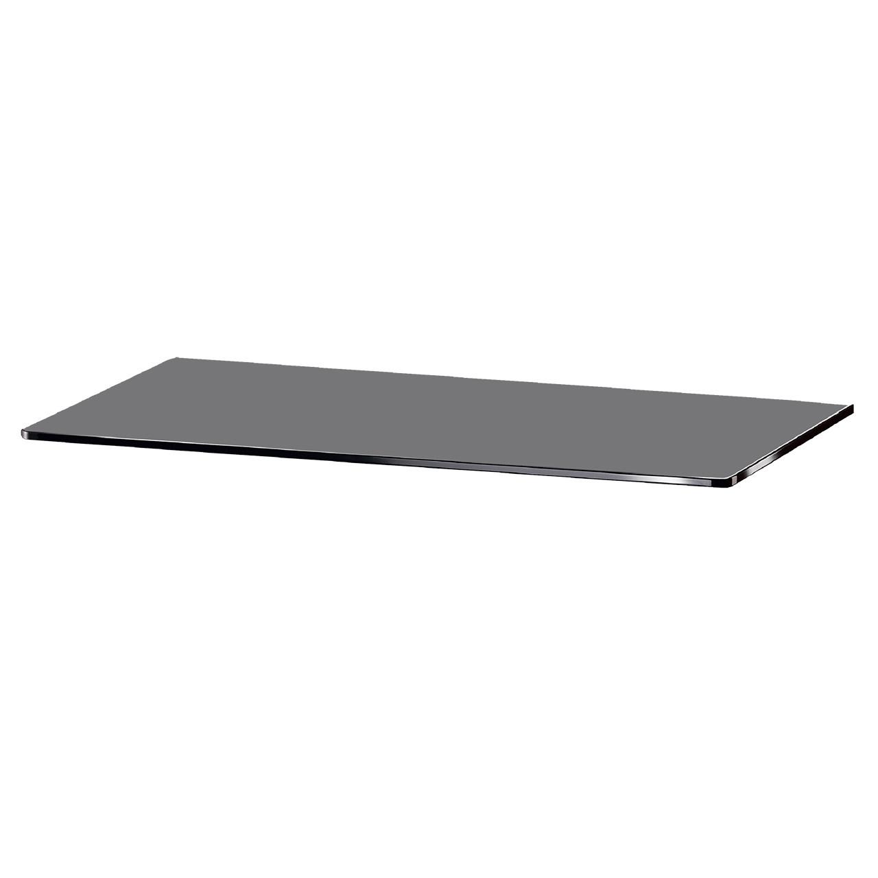 Скляна полиця настінна прямокутна Commus PL15 PG (180х600х6мм)