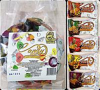 Цукерки з гарбузового насіння з клітковиною в шоколадній глазурі CANDY Асорті 600г